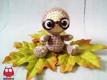232 Crochet Pattern - Little Sloth Lulo - Amigurumi PDF file by Knittoy CP