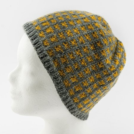 Paula and Paula - Knitting pattern set of matching hats