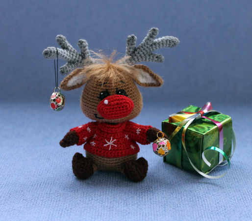 Christmas Fawn, Crochet pattern