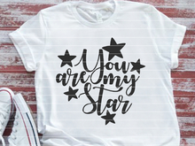 "Plotterdatei ""You are my Star"""