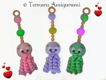 haakpatroon octopus hanger PDF ternura amigurumi english- deustch- dutch