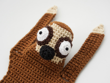 Amigurumi Crochet Sloth Bookmark