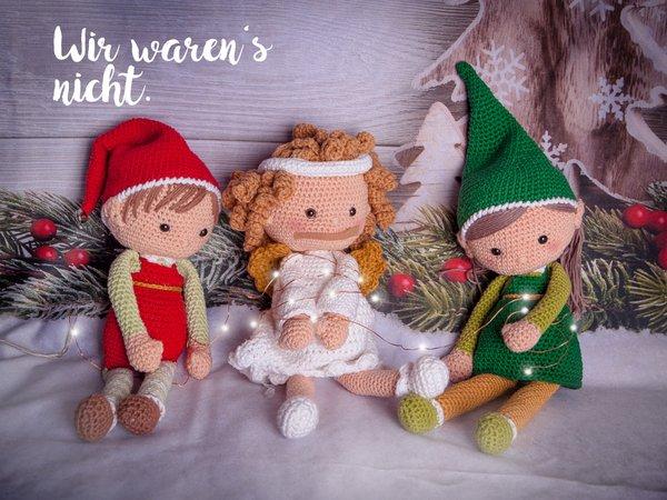 Amigurumi Christmas Elf Free Crochet Pattern - Amigurumi Free Patterns   450x600