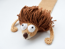 Amigurumi Crochet Lion Bookmark