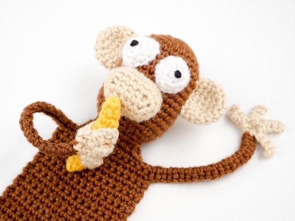 Cheeky Monkey Amigurumi Crochet Pattern (English Edition) eBook ... | 450x600
