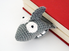 Amigurumi Crochet Shark Bookmark