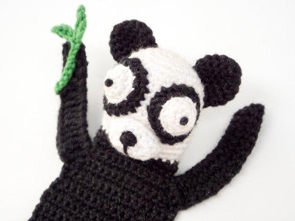 Boy with Panda Hat Crochet Pattern – Snacksies Handicraft | 450x600