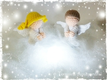 Little angels crochet pattern PDF ternura amigurumi English- Deutsch- Dutch