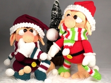 "Crochet Pattern ""The Imaginary Santa Claus"""