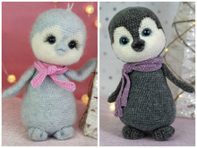 Crochet Pattern Little Penguin