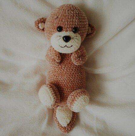 PATTERN: Otter Friends Crochet otter pattern amigurumi   Etsy   450x446