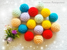 FREE ball crochet pattern PDF ternura amigurumi english- deutsch- dutch