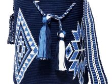 "Pattern Mochila ""Luisa""/ Single-Thread-Technik of Wayuu"""