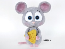 Amigurumi Mouse with cheese Pattern
