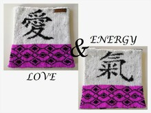 "Strickanleitung Loop ""Love & Energy"" in Double Face - One Size"