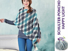 SCHULTER-PONCHO HAPPY-LIGHT