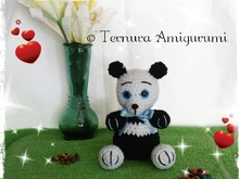 haakpatroon panda beer PDF ternura amigurumi english- deutsch- ducth
