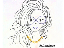 Stickdatei Girl 1