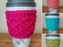 Rombus Coffee Cup Cozy