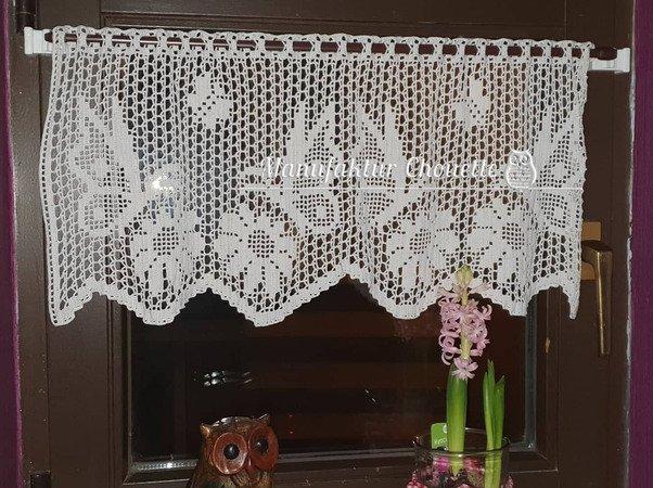 My World Of Crochet Gardine Pattern Gardinen