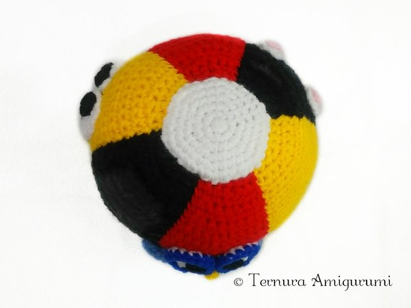 Crochet pattern didactic ball. baby toys didactic kids PDF ternura amigurumi english- deutsch- dutch