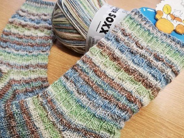 Sommersockchen Fido Socken Stricken Muster