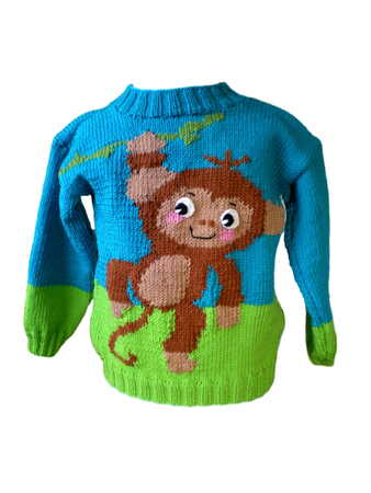 Knitting Pattern Wild Animals -  2 Sizes