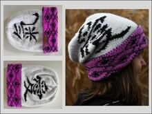 "Strickanleitung Beanie ""Love & Energy"" in Double Face"