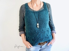 "Slipover ""Winter's Dreams"", Knitting Pattern for Size XS - XL"