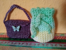 crochet pattern for key bags 2 for 1