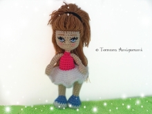 Crochet pattern Lucy doll PDF ternura amigurumi english- deutsch- dutch