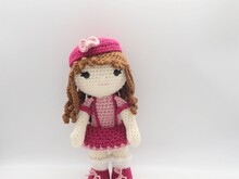 Arabella Doll- Amigurumi PDF- English