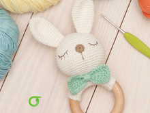 Bunny rattle pattern crochet