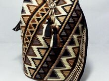 "Pattern for Mochila ""Cherokee"" / Single-Thread-Technique of Wayuu"