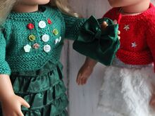 Dolls Bolero Jacket Knitting Pattern