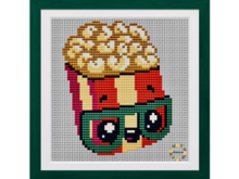 Pop Corn Cross Stitch PDF Pattern