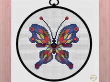 Butterfly Cross Stitich PDF pattern