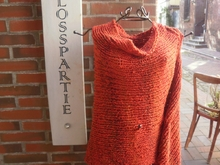 Strickanleitung: * Lady in Red * Poncho