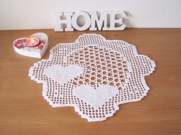 Crochet Tablecloths Zierdeckchenmuster Tischdeckchen 0