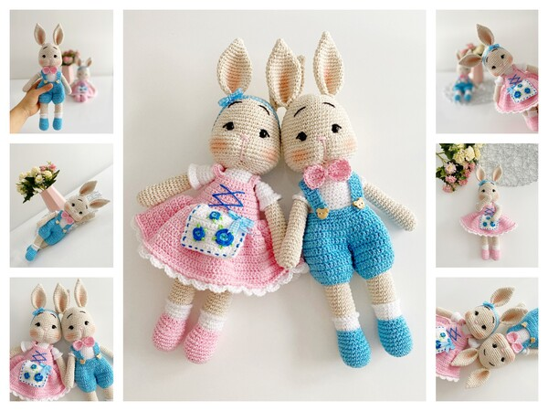 Baby Knitting Patterns Cuddle bunny #bunny #cuddle… | Knitting ... | 450x600