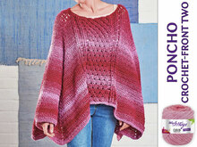 PONCHO CROCHET-FRONT TWO
