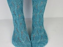 "Kntting pattern ""Spring Socks"""