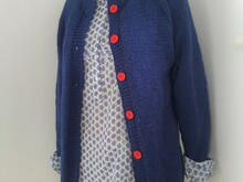 Knitting Pattern - Everyday Raglan Cardigan