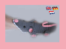 Mouse / rat trap (mice slippers for adults)