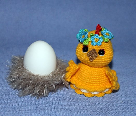 Chick. Cosy or décor for an Easter egg