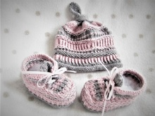 Strickanleitung _ Baby-Set-Calimero