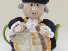 Captain James Cook Tea Cosy Knitting Pattern