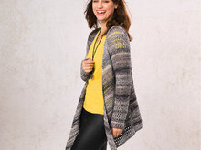 "Strickanleitung Damenjacke ""Messina"" 760164"