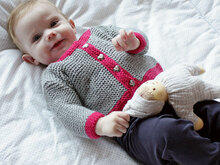 "Strickanleitung Kinderjacke ""Ideal"" 760166"