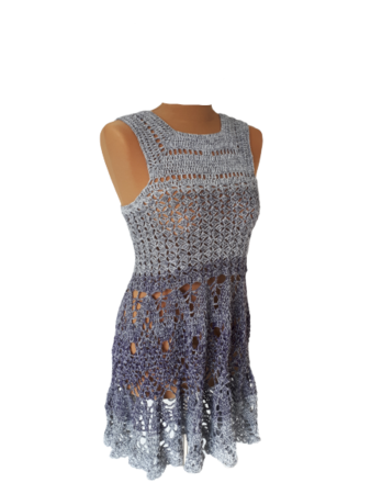 "Häkel-Mini-Kleid ""Summerdream"""